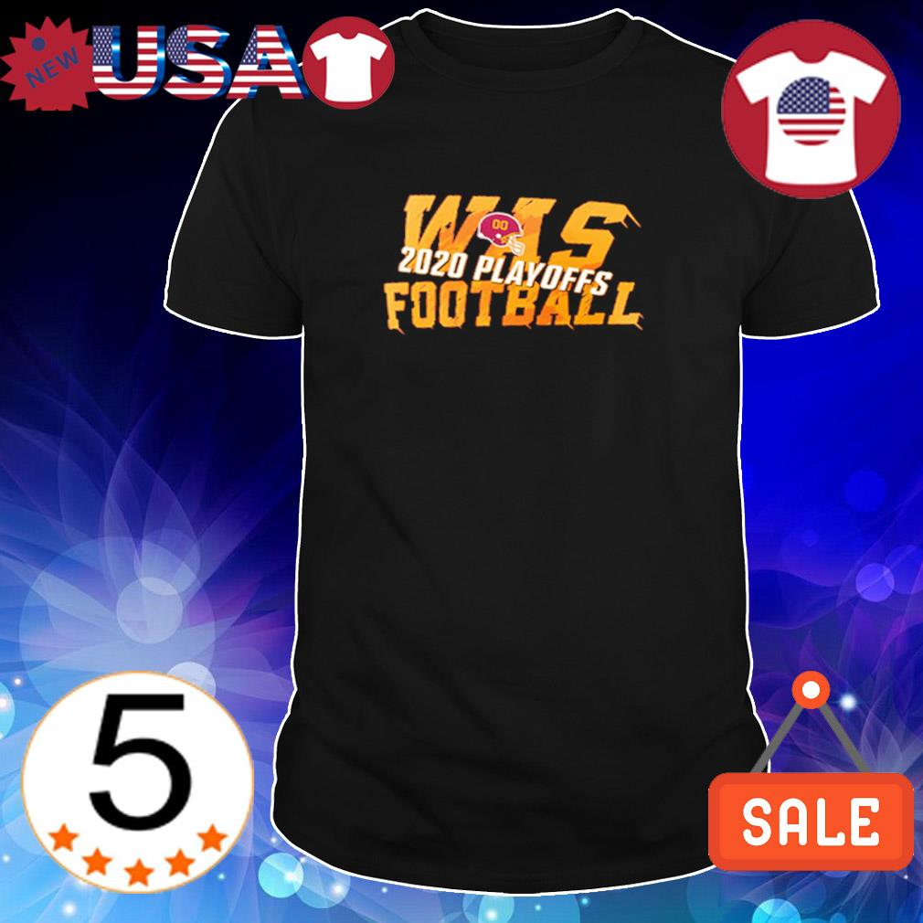 Was football 2020 playoffs Washington Football shirt