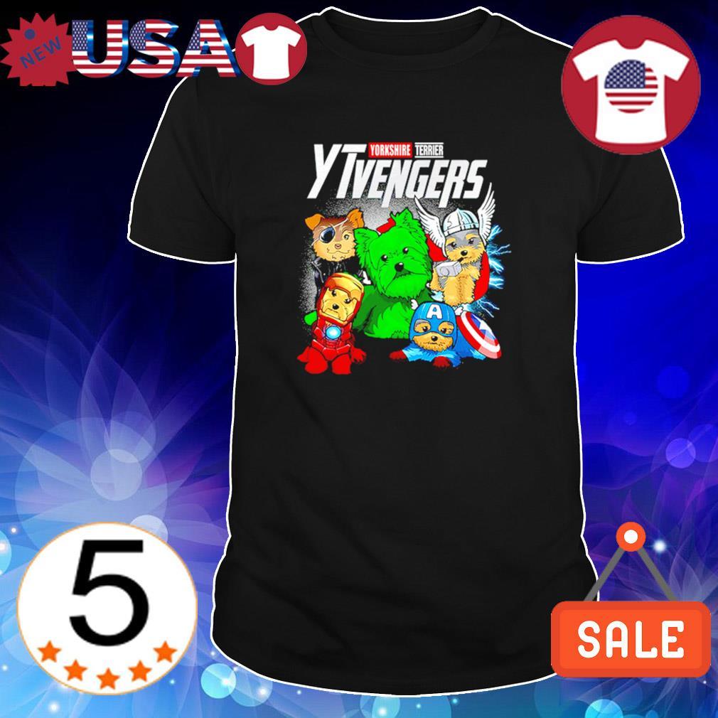 Yorkshire Terrier Marvel Avengers YTvengers shirt