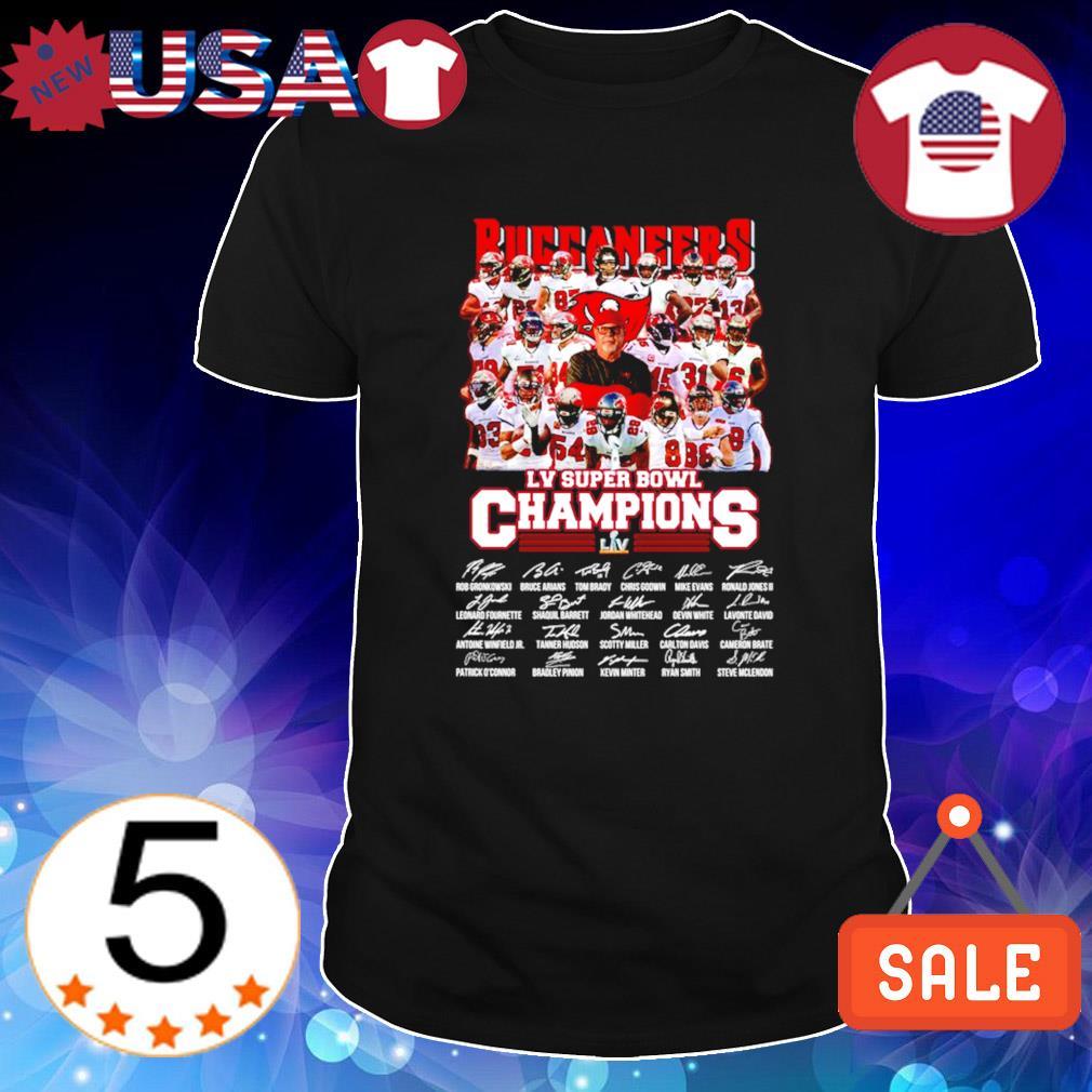 Buccaneers LV super bowl champions 2021 shirt