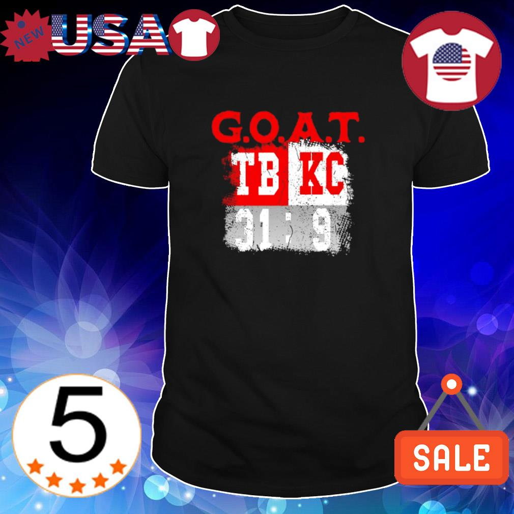 Goat Tampa Bay 31 vs. 9 Chiefs shirt