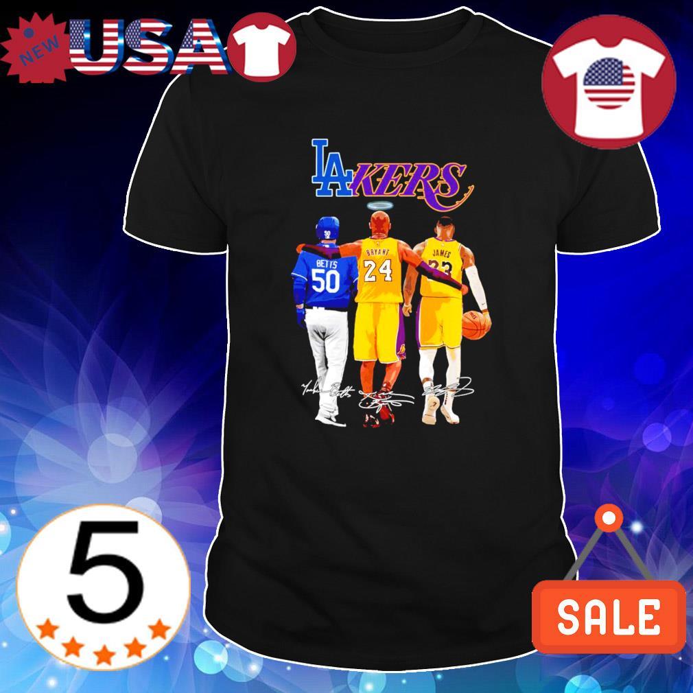 Los Angeles Betts Bryant James best players shirt