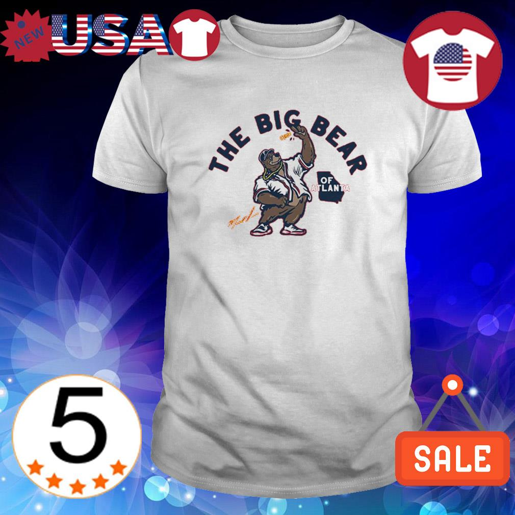Marcell Ozuna the big bear of Atlanta shirt