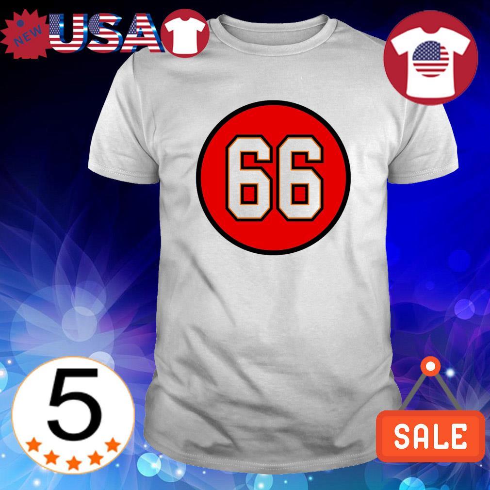 Ryan Jensen Number 66 Tampa Bay Buccaneers shirt
