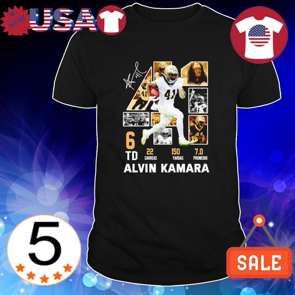 Saints Alvin Kamara 41 best players shirt