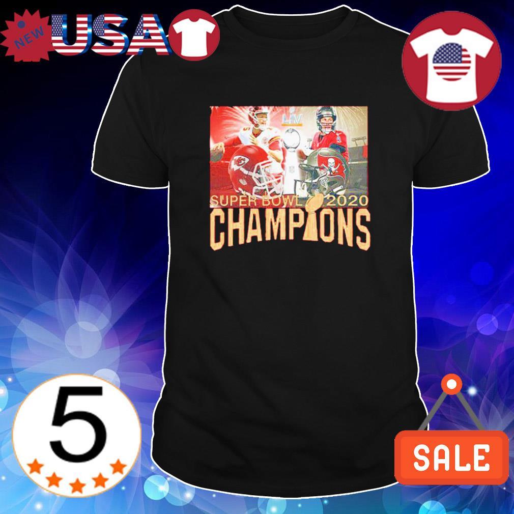 Super bowl 2020 champions Brady vs. Mahomes Chiefs vs. Buccaneers shirt