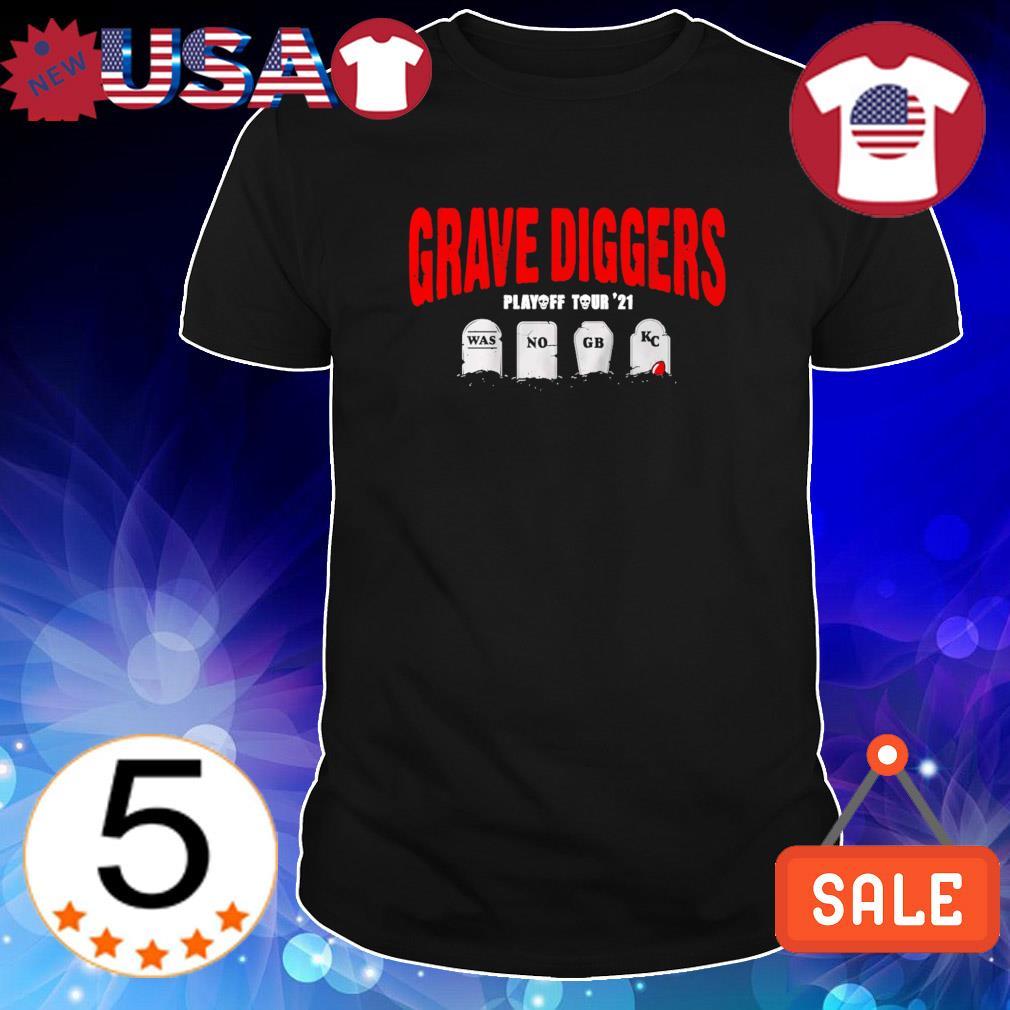 Tampa Bay's 2021 Grave Diggers playoff tour' 21 shirt