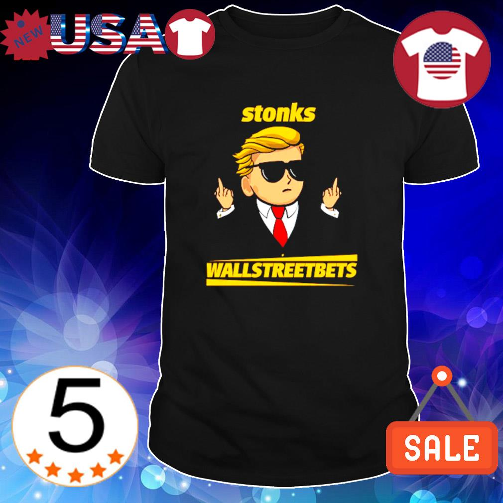Wallstreetbets deepfuckingvalue stonks shirt