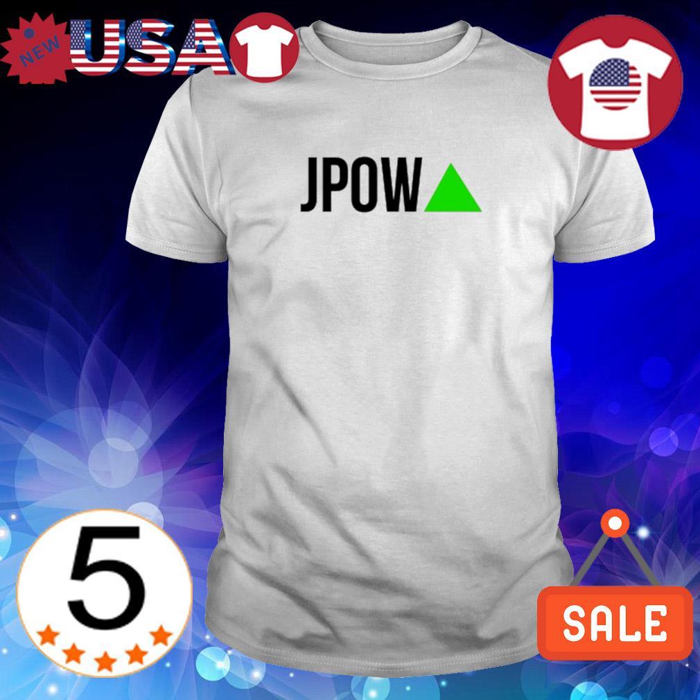 WSB stocks JPOW Go BRRRR shirt